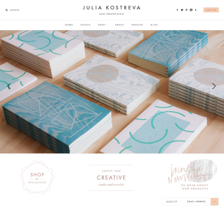 Julia Kostreva - Design Studio   Shop - Coveted Home Goods and Accessories