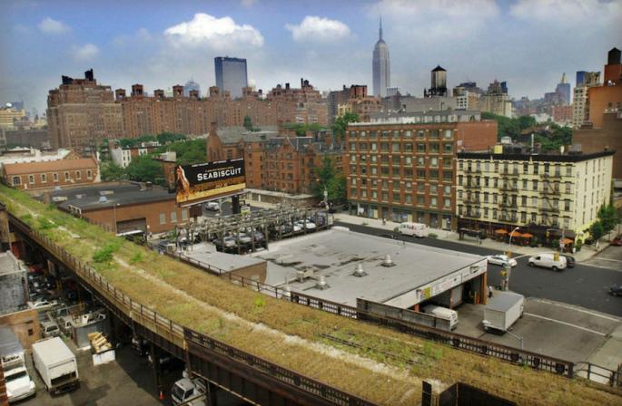 Vecchia ferrovia Highline