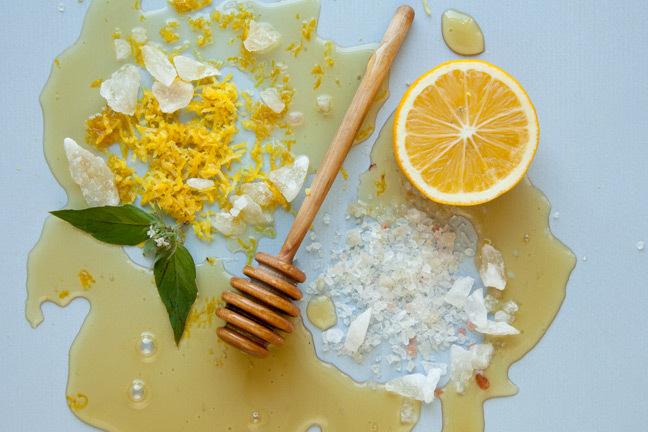lemon-and-honey-scrub