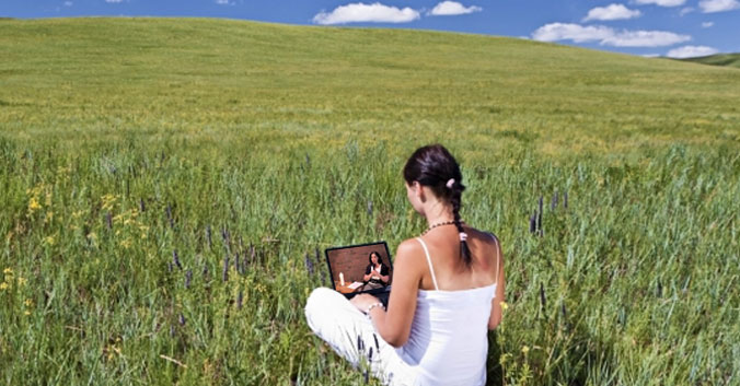 Laptop-in-Nature